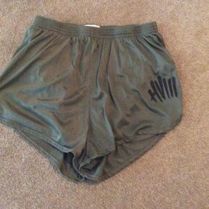 (M) Army Green Soffe Shorts